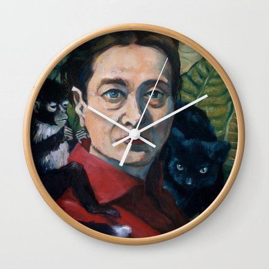 Simone DeBeauvoir Wall Clock