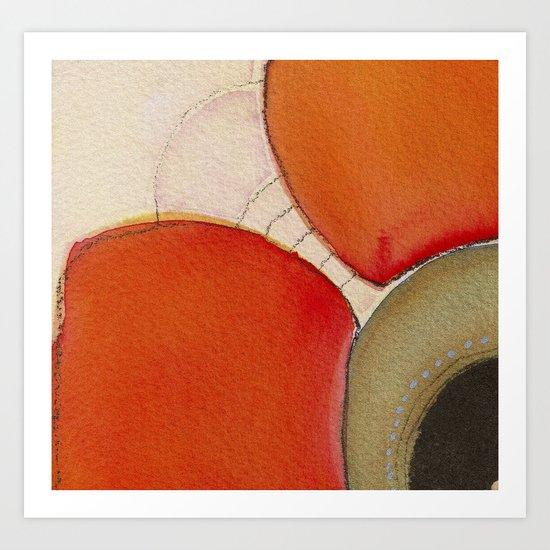 Tapas Abstract 4 Art Print