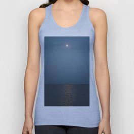 Moonlit Lake Unisex Tank Top