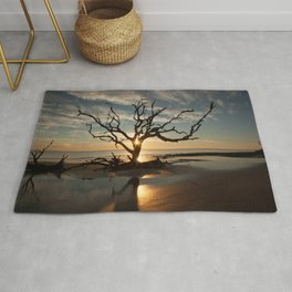 Tree and Driftwood Rug