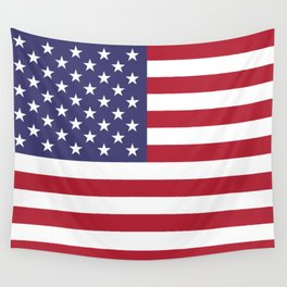 USA National Flag Authentic Scale G-spec 10:19 Wall Tapestry