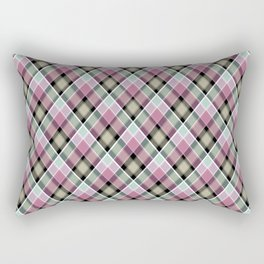 Plaid 20 Rectangular Pillow