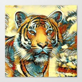 AnimalArt_Tiger_20170605_by_JAMColorsSpecial Canvas Print