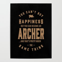 Archer - Funny Job and Hobby Poster