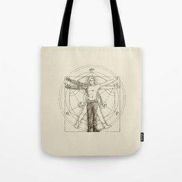 Vitruvian Alchemist Tote Bag