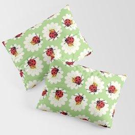 Ladybugs pattern Pillow Sham