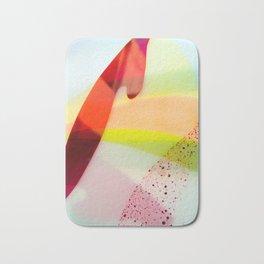 Colourful geometric design Bath Mat