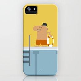 Swimming Pool iPhone Case