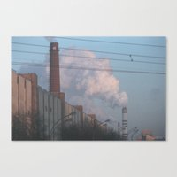 moscow Canvas Prints featuring Moscow by Misha Lu