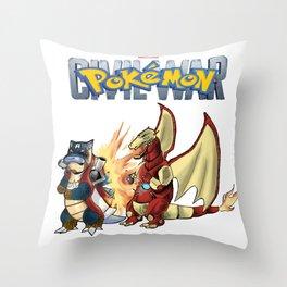 Pokémon: Civil War Throw Pillow