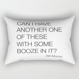 Groundhog Day Bill Murray Quote Rectangular Pillow