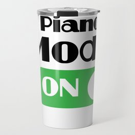 Piano Player Funny Gift - Piano Keyboard Keys Travel Mug