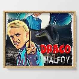 draco malfoy 2020 Serving Tray
