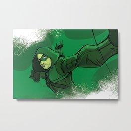 The Vigilante Metal Print
