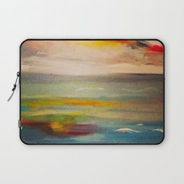 sunset at sea Laptop Sleeve