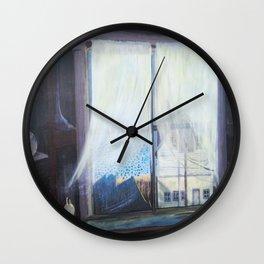 Pumphouse Window Wall Clock