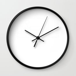 Great Commitment Tshirt Design Exiting Wall Clock