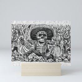Calavera Oaxaquena by Jose Guadalupe Posada Mini Art Print