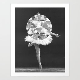 Dancing in Circles Art Print