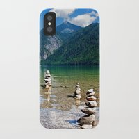 watchmen iPhone & iPod Cases featuring Watchmen of the Lake by Doug Burke