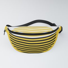Horizons Geometric Design 3 - Summer Sun Gold Fanny Pack