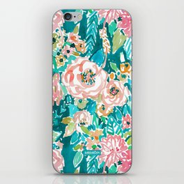 SUMMER IN MAUI Hibiscus Floral iPhone Skin