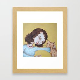 We need to chat Framed Art Print