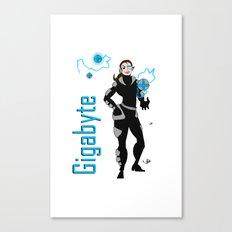 Gigabyte Canvas Print