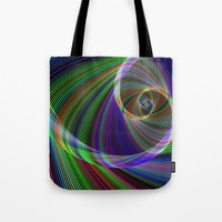 imagination Tote Bags featuring Imagination by David Zydd