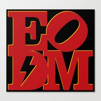 EODM - Variant Canvas Print