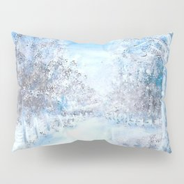 Winter Road Pillow Sham