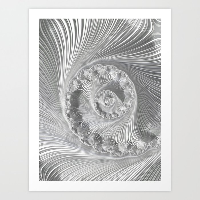Icefield Art Print