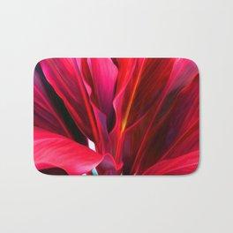 Red Ti Leaf Bath Mat