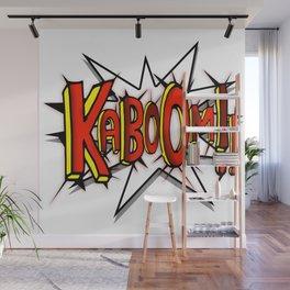 Kaboom (Comic Style) Wall Mural