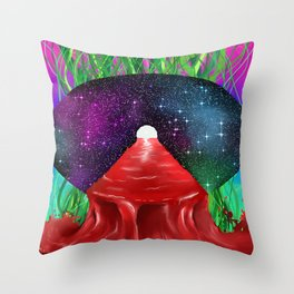 Spill Throw Pillow