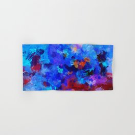 Abstract Seascape Painting Hand & Bath Towel