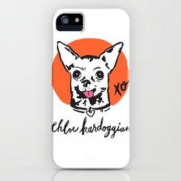 Chloe Kardoggian Illustration with Signature iPhone Case