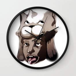 Blaaaaaaah Wall Clock