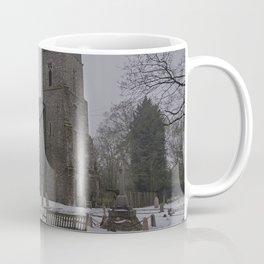 Dunkirk Church In Winter Coffee Mug