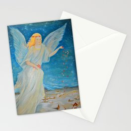 Bless me | Guardian Angels are Here | Angel of Abundance | Love Stationery Cards