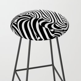 Op art #2 Bar Stool