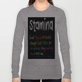 Stamina Long Sleeve T-shirt