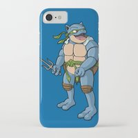 ninja turtle iPhone & iPod Cases featuring Ninja Turtle Blastoise by peterstokesdesign