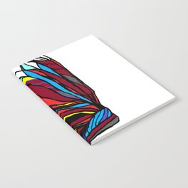 Native American Head-dress Notebook