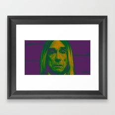 POST POP DEPRESSION Framed Art Print