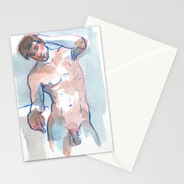 WILL, Nude Male by Frank-Joseph Stationery Cards