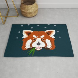 Rascal Red Panda Rug