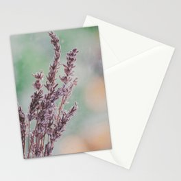 Lavender by the window Stationery Cards