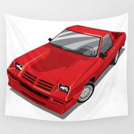 Rampage Red Wall Tapestry