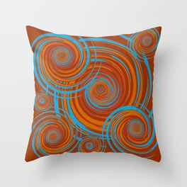 Autumnal 7 Throw Pillow